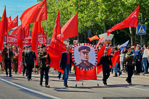 Севастополь, 9 мая. Сталин -…