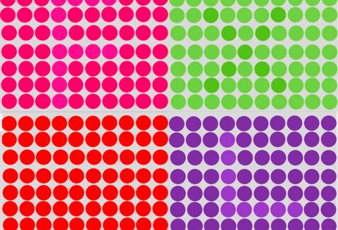 Тест-головоломка с цветными …