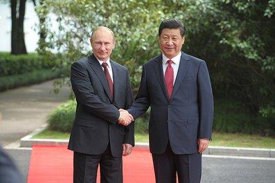 В Шанхае состоялись переговоры Владимира Путина с Председателем КНР Си Цзиньпином.
