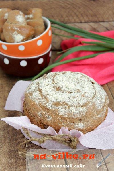 Закусочный хлеб Стейкхаус (Steakhouse bread) и рогалики