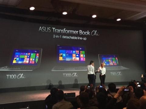 ASUS представила три трансфо…