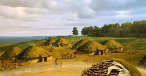 Экскурсия в жилище каменного века. Да это лучше, чем домик в деревне!