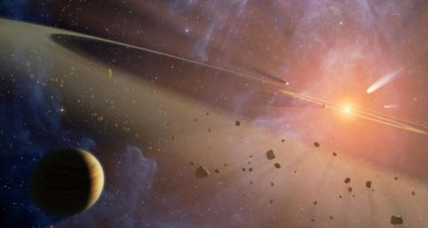 Жизнь в космосе может быть р…