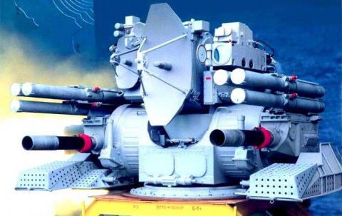 Корабельный зенитный ракетно…