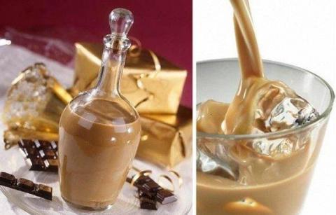 Кофейно-сливочный ликер