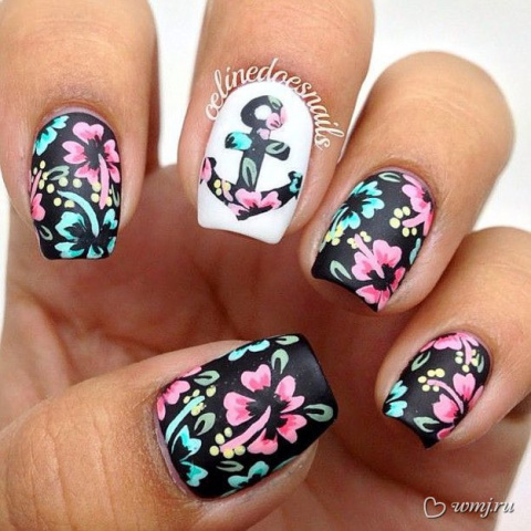 Фитодизайн ногтей - воплощение желания быть оригинальной до кончиков ногтей