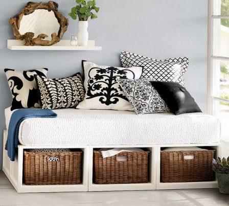 Плетеные корзинки и корзины для вашего интерьера