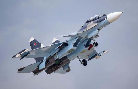Сирия: Воздушная дуэль между СУ-30СМ и израильскими F-15