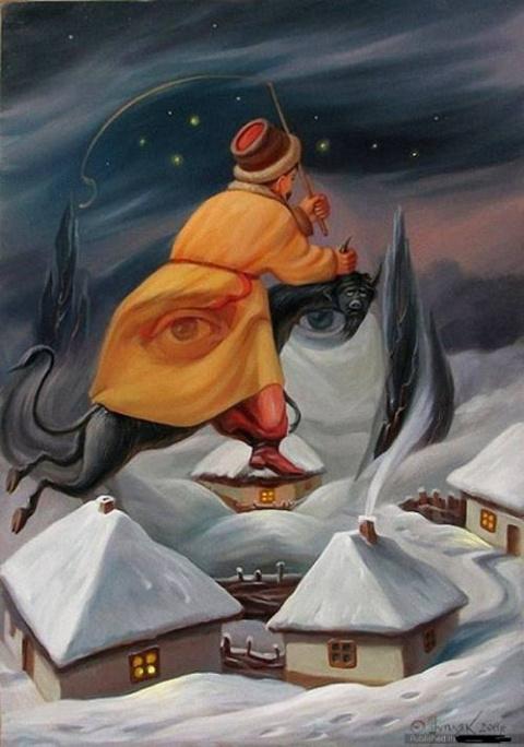 Картины-иллюзии от украинско…