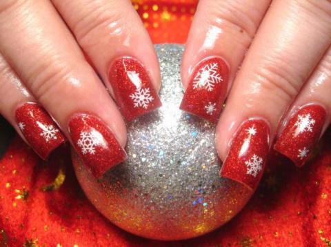 Идеи новогоднего дизайна ногтей. Беспроигрышные варианты!