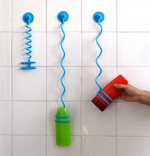 Держатель для шампуня и кондиционера Bungee Bath