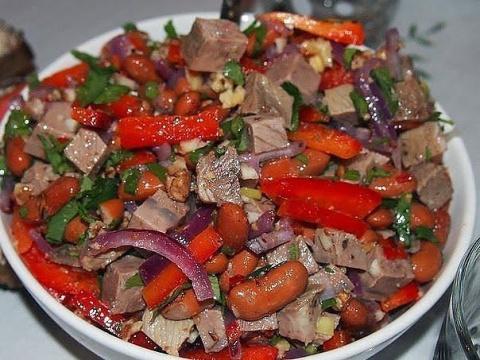 "Знаменитый салат ""Тбилиси"" - вкуснятина и объедение!"