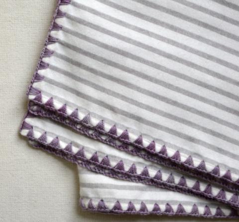 Простой способ обвязки края ткани. МК