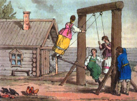 «Молодое время»: как проходили молодежные гулянья в деревнях в XIX в.