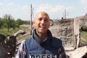 Грэм Филлипс побывал в эпицентре «мира Порошенко» — не позавидуешь!