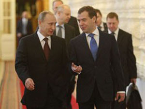 В.Путин предостерег от популистов, спекулирующих на острых темах Big