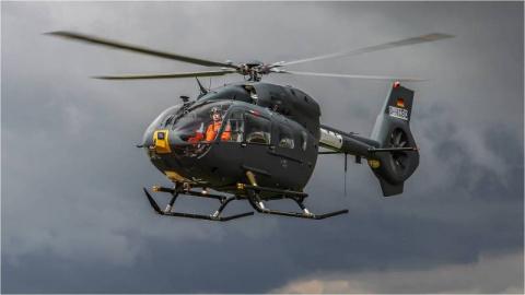 ВС ФРГ получили последний вертолет H-145M для нужд ССО