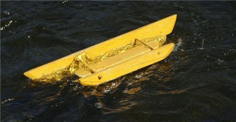 """Снасть """"Кораблик"""" для рыбалки своими руками"""