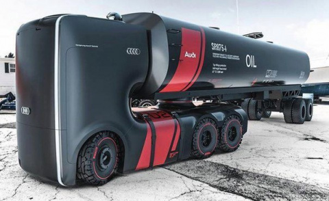 Футуристический бензовоз от Audi