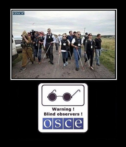 """Наблюдатели ОБСЕ на Украине: """"Украинские военные делают из нас шпионов!"""""""