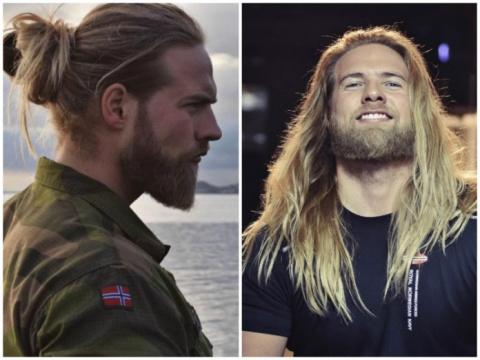 Почему перед этим норвежцем …