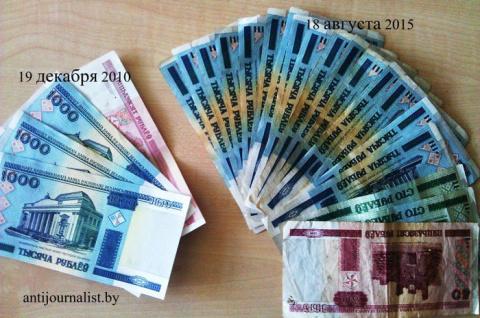 «Успехи» луканомики в одном фото: курс доллара 164 700 000 000 зайчиков