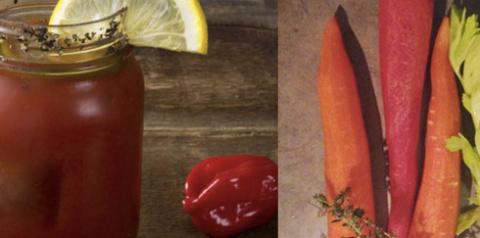 Смузи томат и морковь для лю…