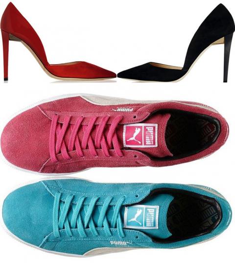 МОДНИЦАМ. Новый стиль: обувь разного цвета