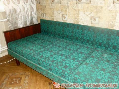 Омолаживаем старый диван...