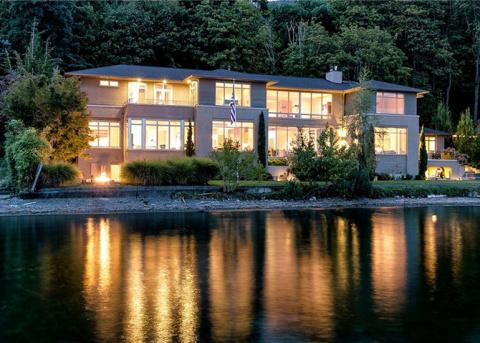 Внутри самого дорогого дома в Сиэтле