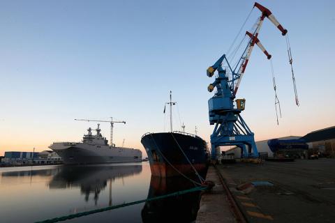 Франция перечислила РФ за непоставку «Мистралей» более 1 млрд евро