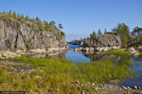 Шхер вам! Безумно красивые острова на Ладожском озере