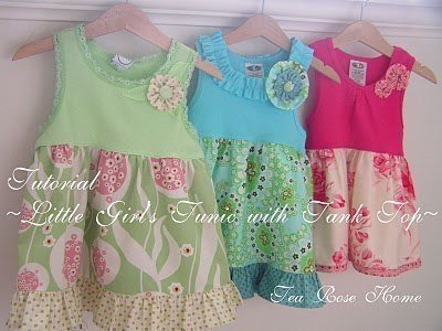 Платье для девочки своими ру…