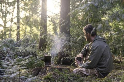 МАСТЕРИЛКА. Лёгкая и эффективная дровяная печка для походов