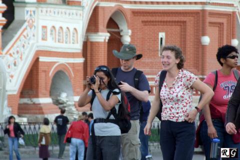 В России увеличивается поток иностранных туристов