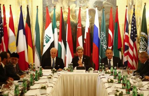 Керри: между участниками встречи в Вене остаются разногласия по вопросу о будущем Асада