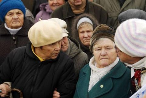 400 тыс. пенсионеров Донбасса подают в суд на Киев за неоплаченные пенсии