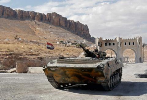 Техника войны в Сирии: укреп…