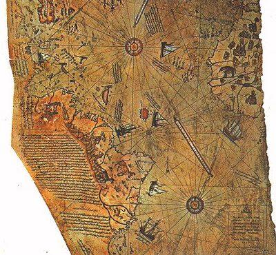 Загадочная и удивительная карта Пири Рейса