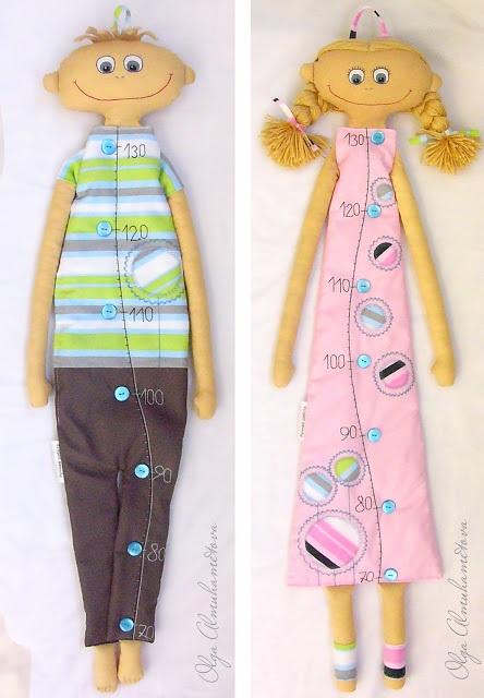 Шьём симпатичную куклу-ростомер