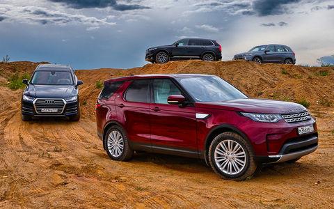 Новый Land Rover Discovery п…