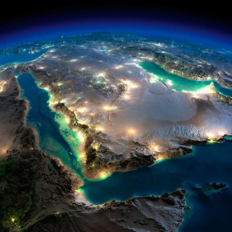 Ночная Земля без облаков (25 фото)