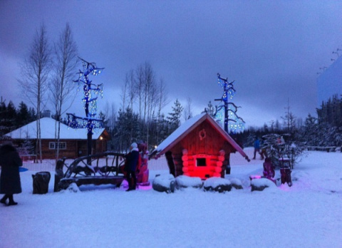 Карельский Дед Мороз Талви Укко обзавелся домом