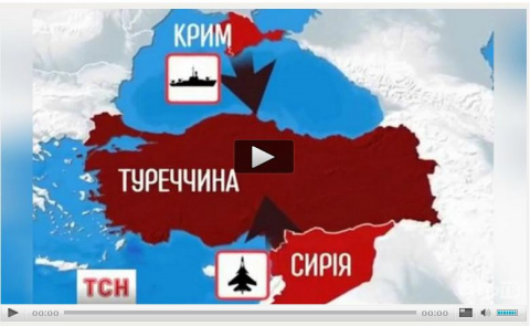 TCH Украинский канал:Россия разбомбит «сирийских детей» и нападет на Турцию