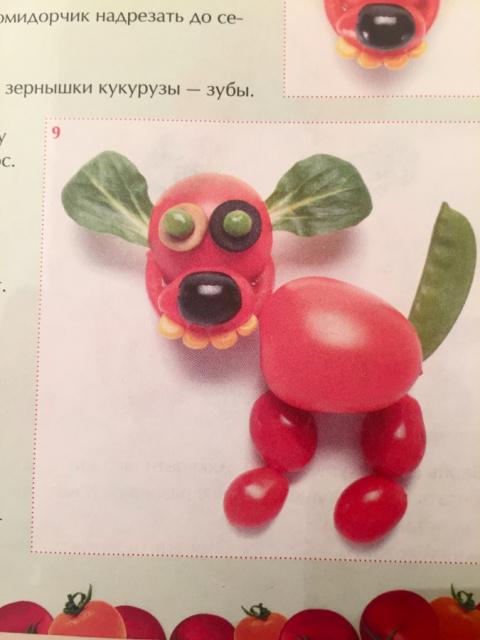 Вкусные фантазии из помидоро…