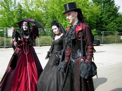 Кровавые ритуалы готов и что за ними стоит