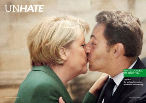 Реклама Benetton - разненавидеть всех!