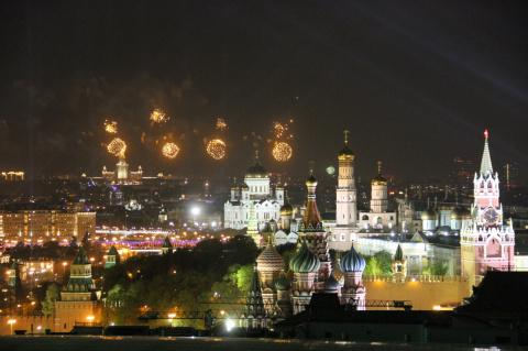 Салют Победы - 70 лет. Москва