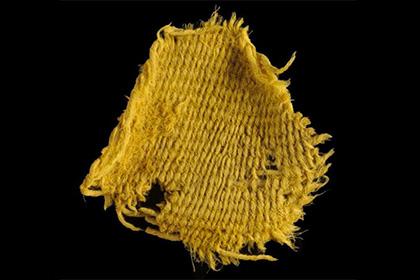 В Израиле найдены ткани времен царей Давида и Соломона