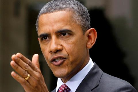 Обама просит. Обама пугает.
